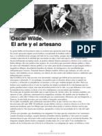 8. Oscar_Wilde-_el_arte_y_el_artesano