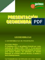 Presentación Geomembrana