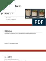 caracteristicas del suelo - clase 1