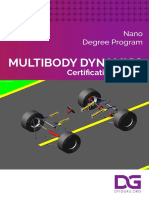 DIYguru Multi Body Dynamics Course Brochure