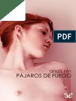 Nin, Anaïs - Pájaros de fuego.pdf
