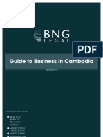 Guide to Business in Cambodia (BNG Legal Feb 2010)
