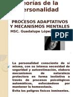 Procesos adaptativos y mecanismos mentales