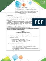 Ejercicios Termodinámica Química y Equilibrio Químico - Luis Arley Muñoz