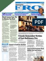 Baltimore Afro-American Newspaper, December 18, 2010