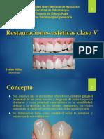 Restauración clase V