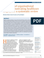 British Journal of Healthcare Management 2018