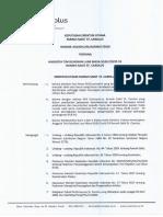 Surat Keputusan Tim KLB COVID-19 - RS St. Carolus, Jakarta