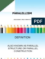 parallelism grammar.ppt