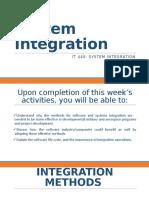 System Integration-1