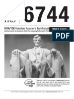 Publication 6744, Volunteer Assistor's Test/Retest