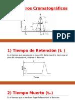 Parámetros Cromatográficos