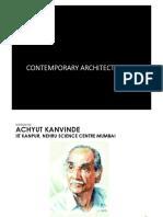 achyut kanvinde ( contemporary architecture)