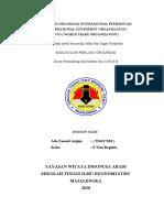 MAKALAH IGO (WTO)