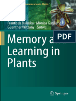 Baluska, Gagliano, Witzany, Memory-and-Learning-in-Plants