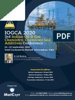 IOGCA 2020 Conference Brochure, 24-25 Sept, Ahmedabad