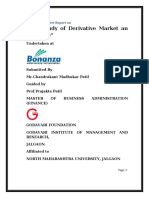 The study Of Derivative Market An Overview.docx
