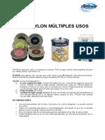 instrucciones tintel dylon - latita