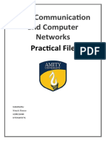 Data communications and Computer networks File