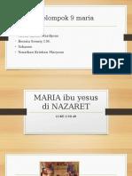 MARIA dari NAZARET