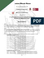 Regolamento Note In Armonia 2014