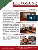 Notizie Dal Comune di Borgomanero del 27-03-2020