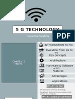 5 G TECHNOLOGY