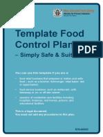 template food control plan