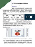articulo sobre ETIQUETADO DE ALIMENTOS ENVASADOS - meneses