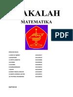 MAKALAH MATIMATIKA (2)