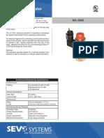 SEVO 1230 Electrical Actuators