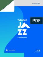 Tucumán Jazz | 2 Festival Internacional / Programación -