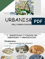 Significado y Funcion del Urbanismo
