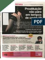 """""""Prostituição não pára em tempos de covid-19"""" - Jornal i, 27/03/2020"""