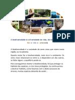A biodiversidade é a diversidade da vida.docx