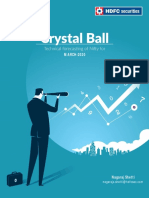 Crystal Ball - Technical forecasting of Nifty for March 2020
