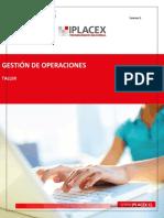 TALLER DE GESTION DE OPERACIONES
