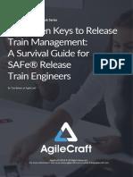 AgileCraft eBook - 7 Keys to Release Train Management