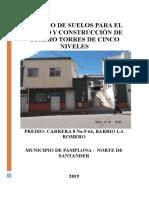ESTUDIO DE SUELOS 2019