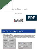 Adobe inDesign - Novità 2019