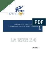 1 Community Manager  Modulo 1- Unidad I