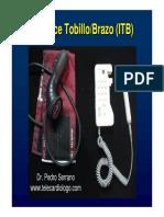Calculo Del Indice Tobillo Brazo (ITB)