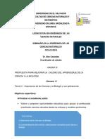 S11 IMPORTANICA DE CIENCIAS Y LA BIOLOGIA