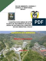 ESPECIFICACIONES TECNICAS SAN SEBASTIAN