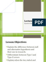 Lecture 3_Hypothesis Testing