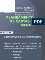 GC - 3. Planeamento de Cartas e Menus