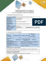 Guía de actividades y rúbrica de evaluación - Fase 2 - Aplicar la matriz de marco lógico desde la transversalidad comunicativa