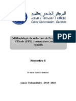 Methodologie de redaction du PFE Mr Janati