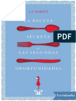 La receta secreta de las segundas oportunidades - J D Barret