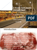 power point frozen food